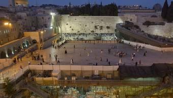 Tempelberg-Areal in Jerusalem (Archiv)