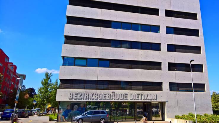 Bezirksgebäude Dietikon Bezirksgericht