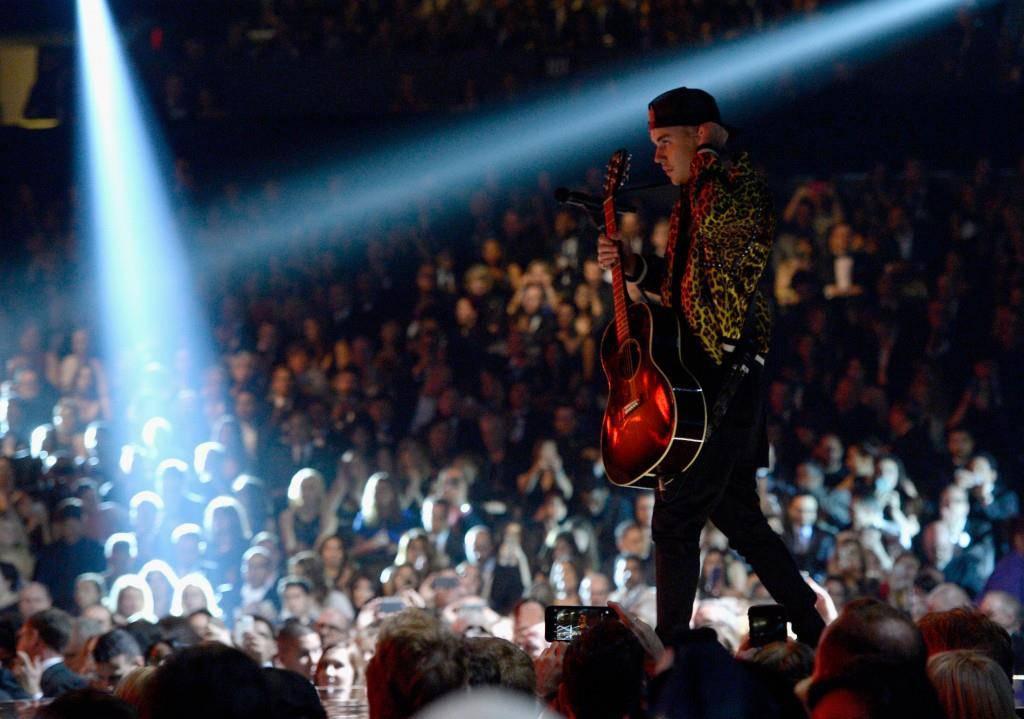Justin Biebers Auftritt bei den Grammys