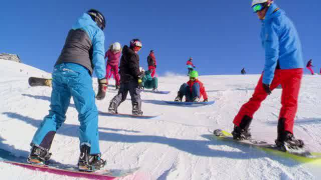 Von wegen Schneesport ist out!
