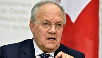 Bundesrat Schneider-Ammann. Key