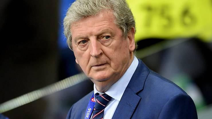 Unter Druck: Englands Nationalcoach Roy Hodgson