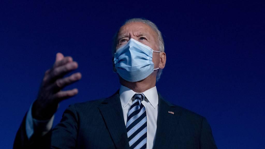 Biden: Keine Debatte, wenn Trump immer noch Covid hat