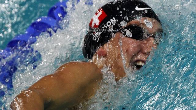 Kann die Schweizerin Swann Oberson mit den besten mitschwimmen?