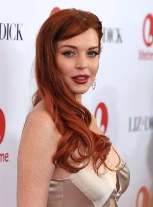 Und mit roten Haaren im November 2012 bei der Premiere von «Liz & Dick»