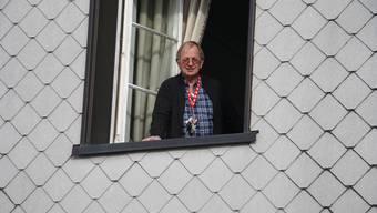 Werner Käser hält die Neuigkeit, dass das Kurhaus ab Mai ohne Pächter dasteht für keine Hiobsbotschaft.