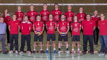 Bereit für die neue Saison: Das Kader von Smash 05 Laufenburg-Kaisten.