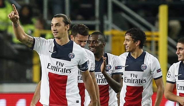 Der Mann des Champions-League-Abends: Zlatan Ibrahimovic.