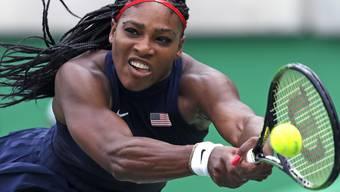 Hat erst nach dem Australian Open Zeit, um ihre Verlobung zu geniessen: Tennis-Star Serena Williams. (Archiv)