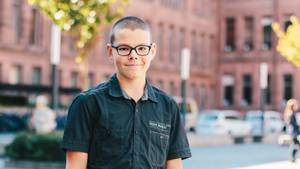 Der 14-jährige Bastian Eichenberger.