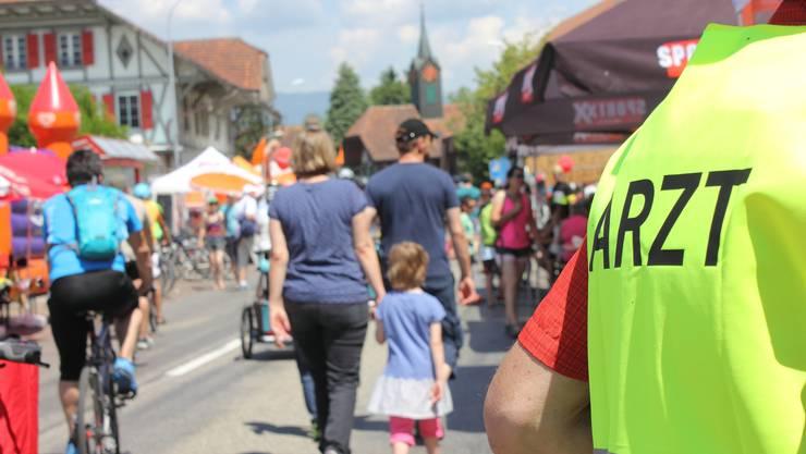 Einzigartig in der Schweiz: Hausärzte am slowUp