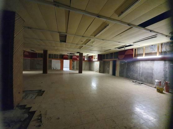 Blick ins erste Obergeschoss des Rosengarten-Coops, wo ab 2022 das Amt für Bildung und Kultur einziehen soll.