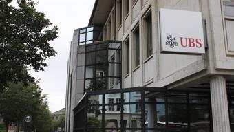 Die UBS-Filiale in Solothurn.