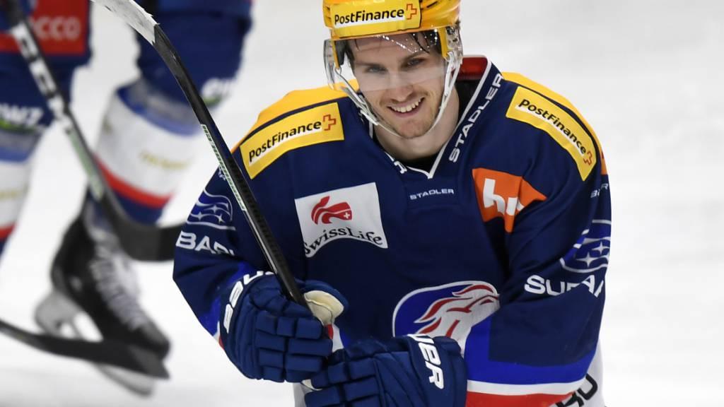 Pius Suter verlässt ZSC Lions Richtung NHL