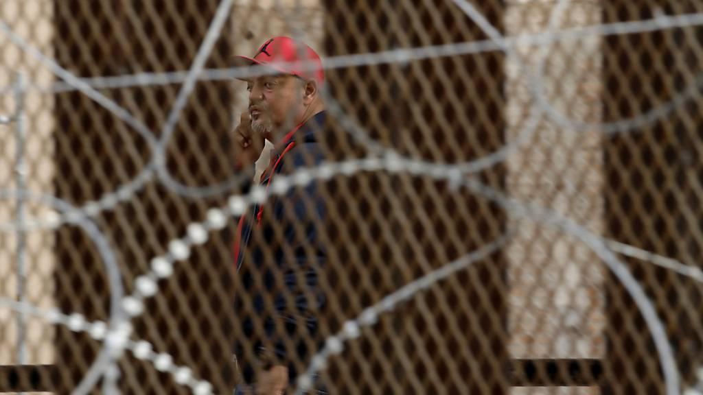 US-Militär verstärkt Präsenz an Grenze zu Mexiko