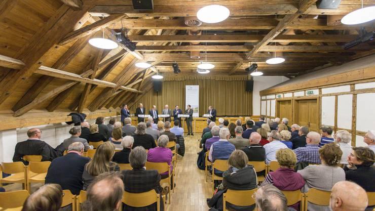 Im Saal des Stürmeierhuus finden zahlreiche Veranstaltungen statt.