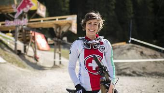 Zum dritten Mal im Weltcup auf dem Podest: Emilie Siegenthaler hat Grund zur Freude. (Archivbild)
