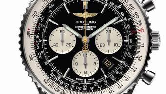 Ikone der Fliegeruhren: Breitling Navitimer.