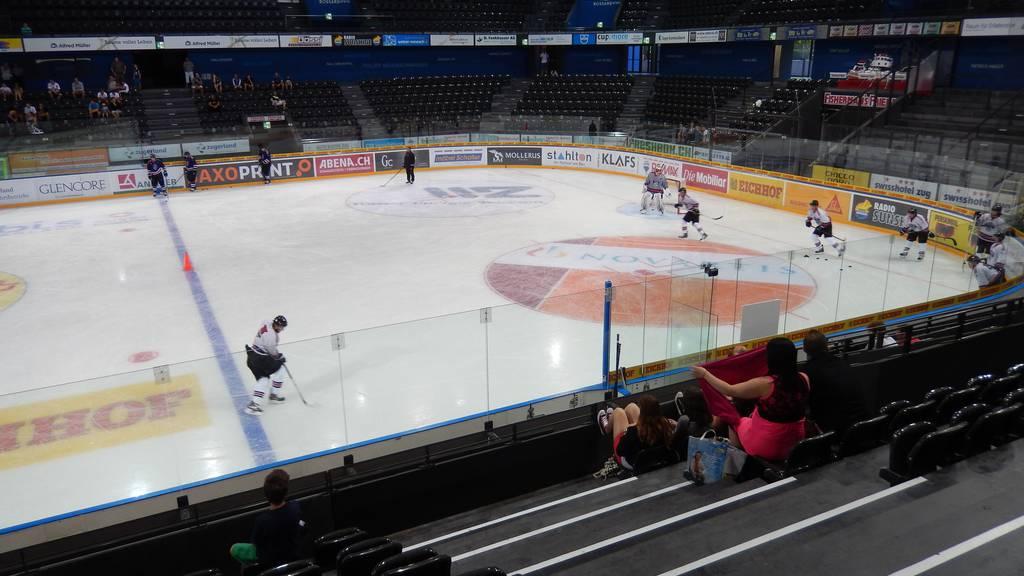 Bossard-Arena soll ausgebaut werden