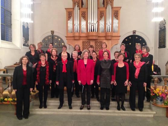 Chor Wimbaway unter der Leitung von Susanne Wiesner