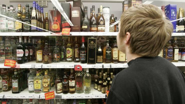 Alkoholverkauf an Jugendliche