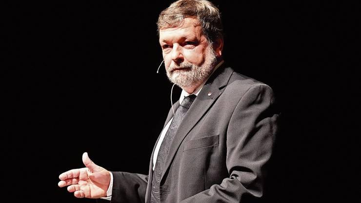 Um seine Nachfolge wird es ein Gerangel im bürgerlichen Lager geben: Regierungsrat Roland Heim.