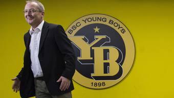 YB-Sportchef Fredy Bickel: «Angesichts der finanziellen Mittel, der Infrastruktur und des Leistungsausweises des FC Basel wäre es wahnsinnig überheblich, zu verkünden: Jetzt müssen wir Meister werden!»