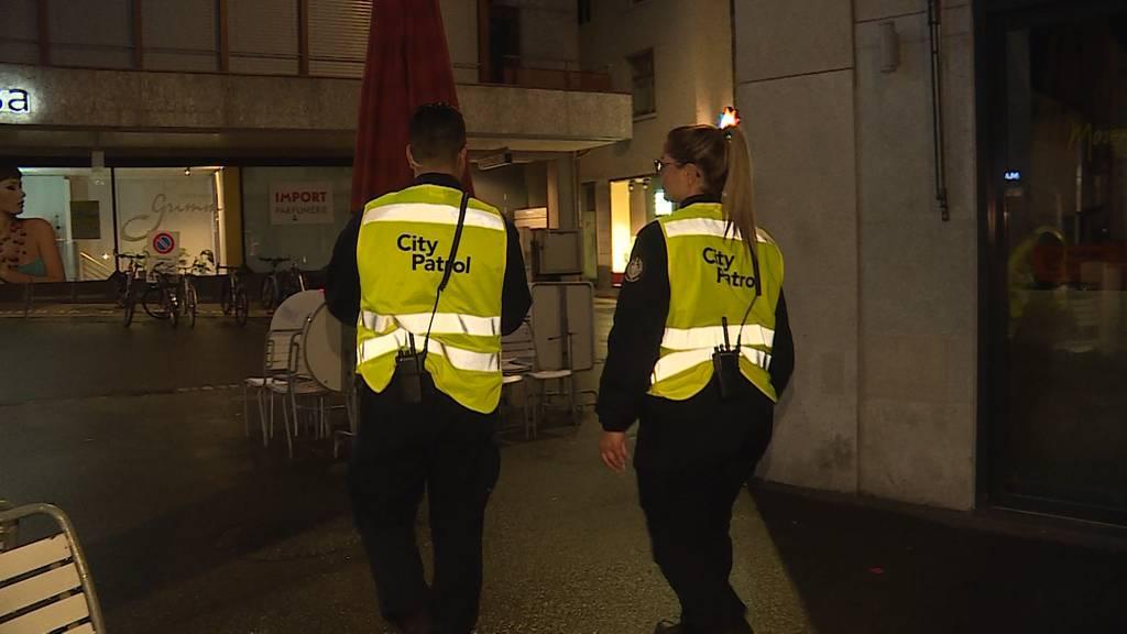 Eine Nacht mit der City-Patrol Baden