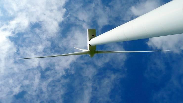 Umstritten: Das geplante Windrad auf dem Heitersberg scheidet die Gemüter.(BIld:zvg)