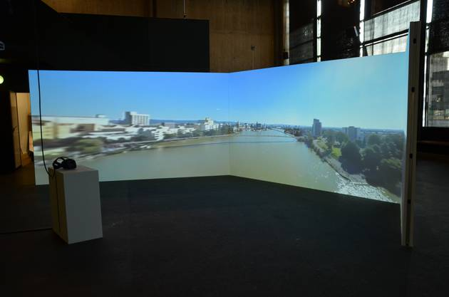 Der virtuelle Flug übers Dreiland.