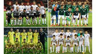 Gruppe F: Deutschland, Mexiko, Schweden, Südkorea