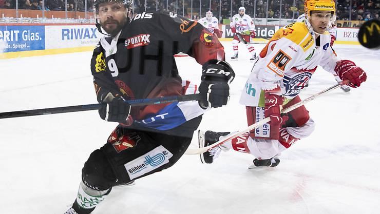 Der formstarke Jan Mursak steht dem SC Bern am Freitag gegen Fribourg nicht zur Verfügung