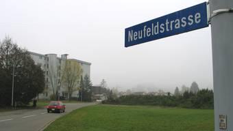 Die Neufeldstrasse in Unterentfelden. (Archiv)