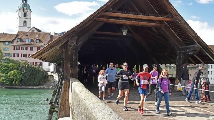 Nach der Sanierung der Holzbrücke wird dieses Jahr wieder das gewohnte Bild zu sehen sein.