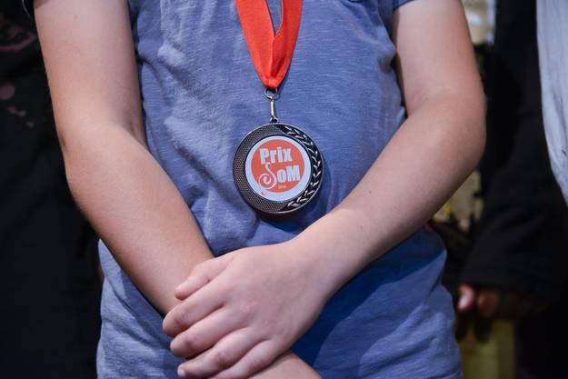 Medaille für den PriSoM