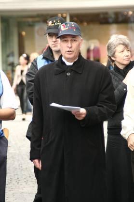 Die Pius-Brüder demonstrierten gegen das Recht auf Abtreibung.