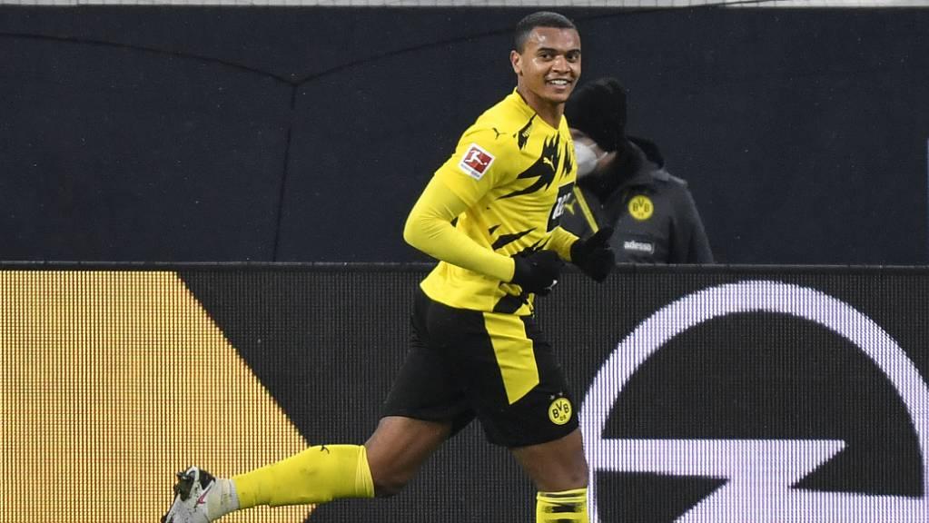 Manuel Akanji erzielte beim 2:0 von Borussia Dortmund gegen Wolfsburg das wegweisende 1:0-Führungstor