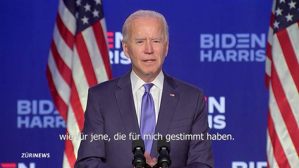 US-Wahlen: Joe Biden ist neuer Präsident der USA