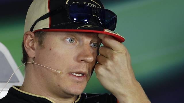 Kimi Räikkönen musste wegen Rückenprobleme operiert werden.