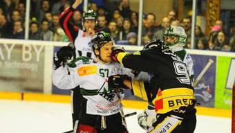 HC Ajoie - EHC Olten, NLB Playoff-Halbfinale, Spiel 4