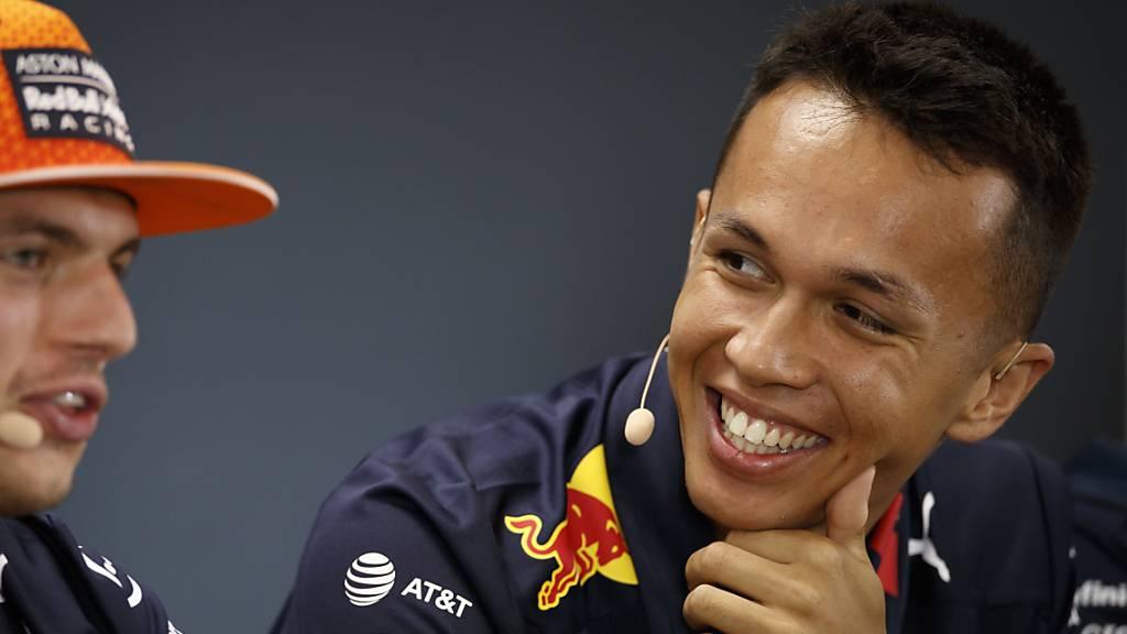Alexander Albon will es im Red Bull packen