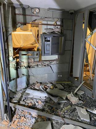 In der Nacht auf Freitag wurde in Küttigen ein Bankomat gesprengt.