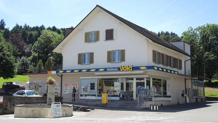 Der Volg in Veltheim wird einer Sanierung unterzogen. So werden beispielsweise sämtliche Geräte ersetzt.