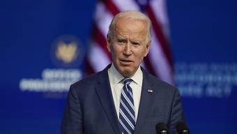 US-Präsident Joe Biden hat einiges vor zum Start seiner Amtszeit. (Archiv)