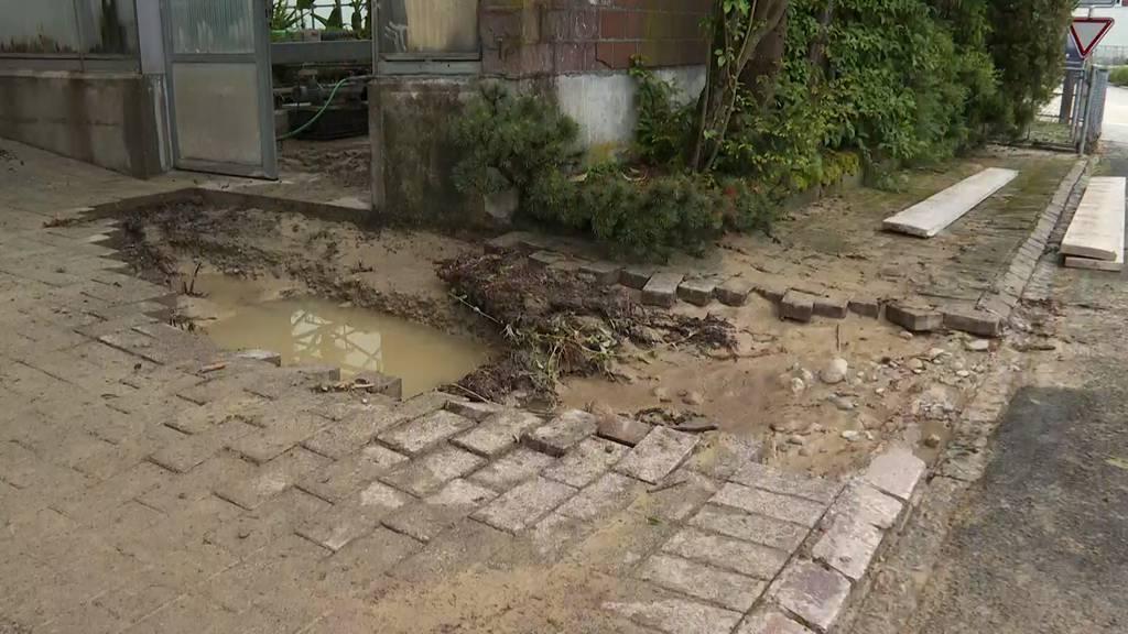 Regenmengen überfluten dutzende Keller – vorerst keine Entwarnung