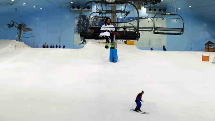 In Dubai mag sich eine solche Skihalle mit Skilift grosser Beliebtheit erfreuen; im Gäu scheint so ein Projekt weder vor zehn Jahren noch heute sinnvoll.