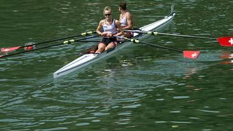 Frédérique Rol (links) und Patricia Merz (rechts) sind in Plovdiv auf Kurs