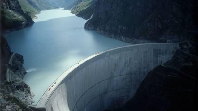 Der Wert der Walliser und Bündner Wasserkraftwerke wird zusammen auf 30 Milliarden Franken geschätzt. Foto: aura
