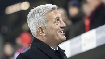 Ende gut, alles gut! Nationalcoach Vladimir Petkovic nach dem erfolgreichen Jahresabschluss gegen Belgien