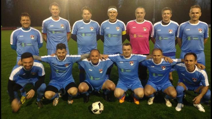 Die erfolgreichen Promi-Veteranen des FC Mladost-Aarau stehen im Aargau kurz vor der erfolgreichen Verteidigung des Doubles.